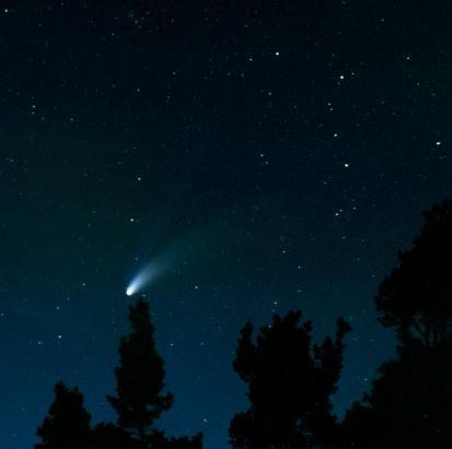 Komety - budowa, geneza powstania, znane komety